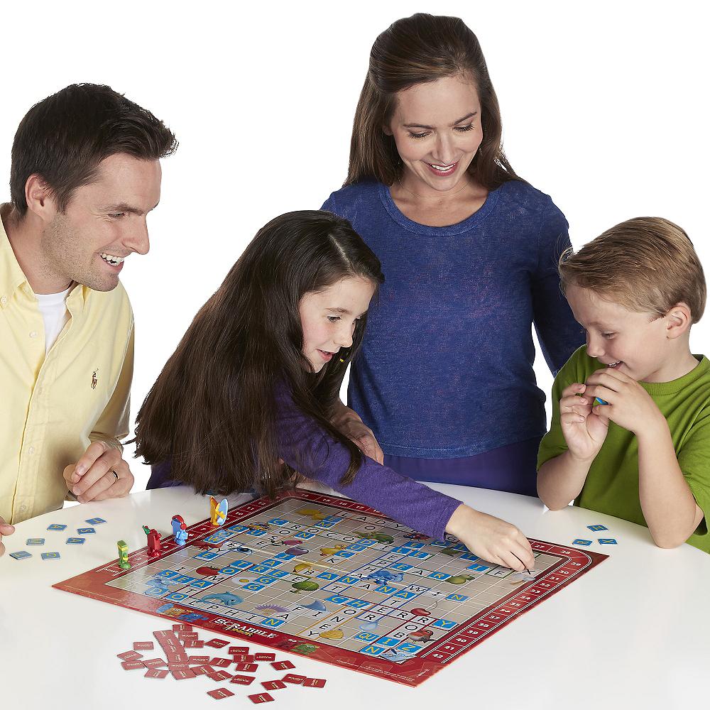 Scrabble Junior Board Game Image #2