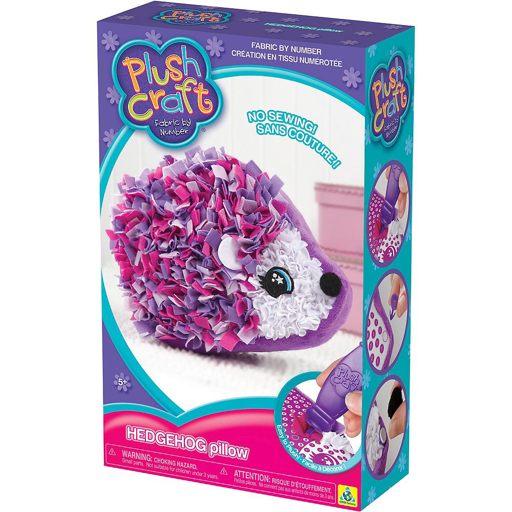 Hedgehog Pillow Plush Craft Kit 408pc Image #3