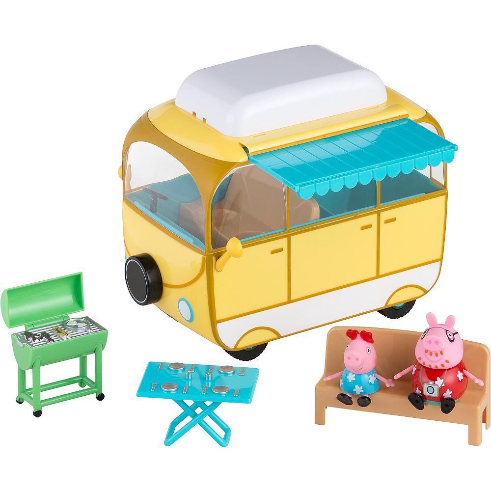 Peppa Pig Campervan Playset 7pc Image #1