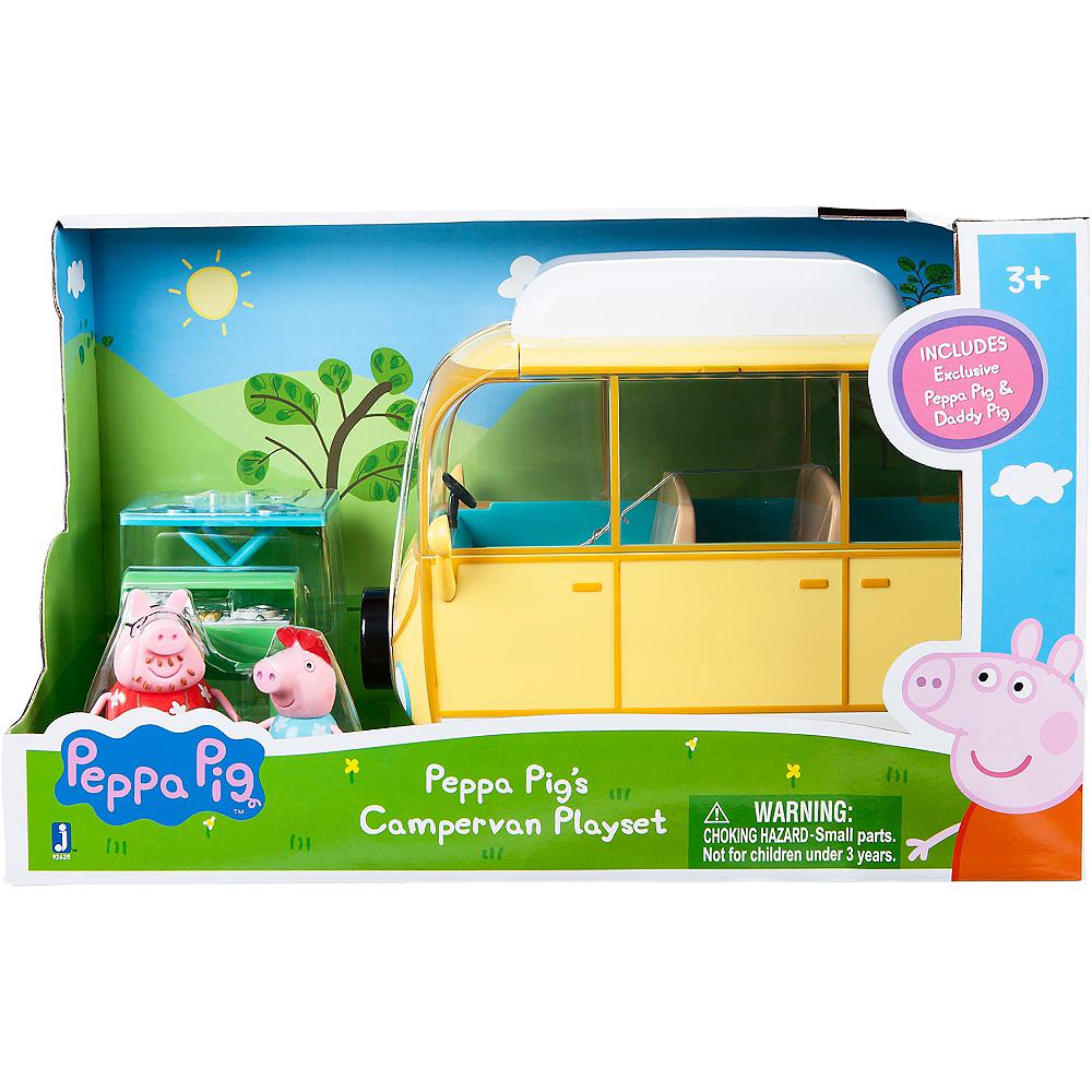 Peppa Pig Campervan Playset 7pc Image #2