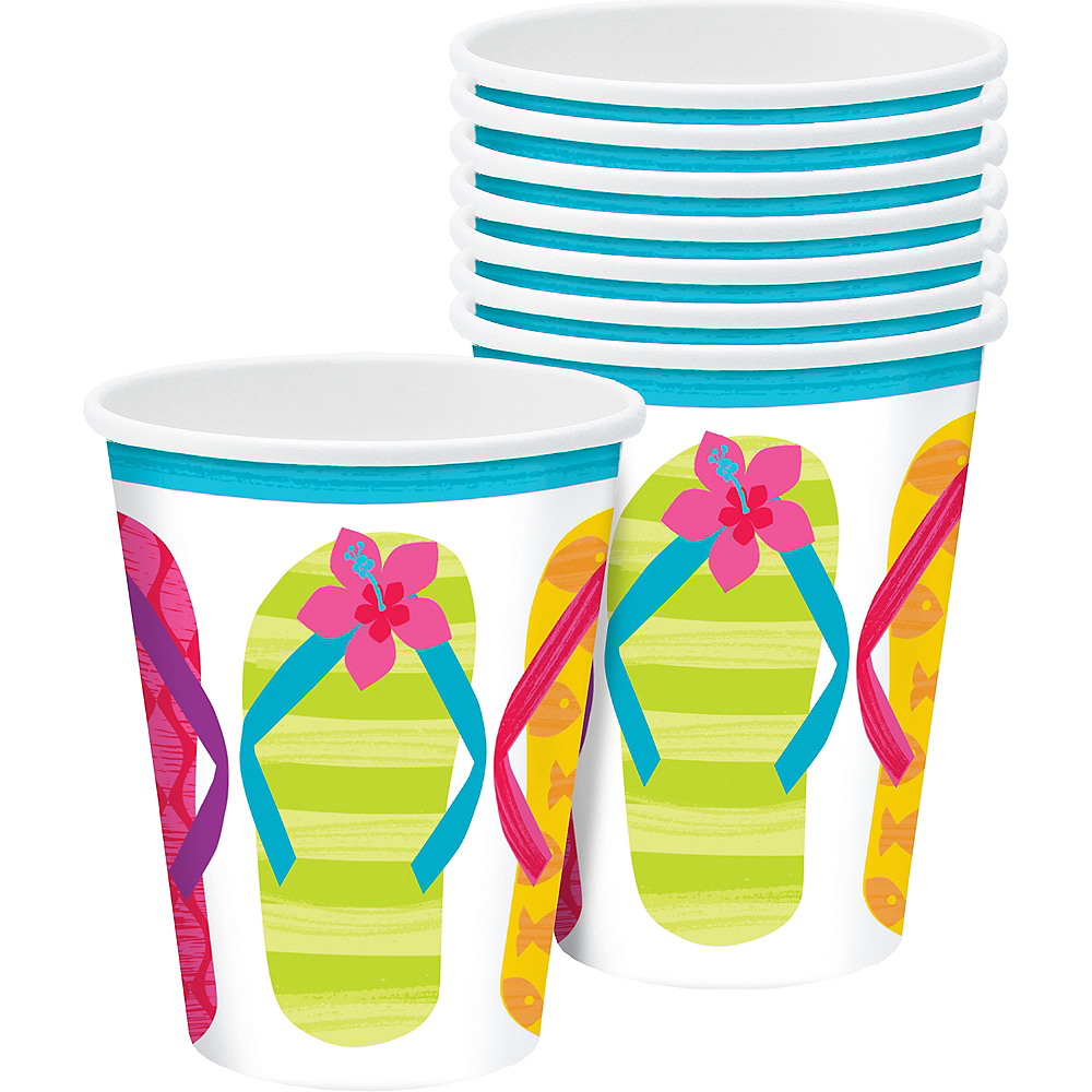 Bright Flip Flop Cups 50ct Image #1