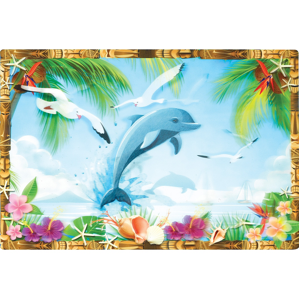 Nav Item for Tropical Scene Lenticular Cutout Image #1