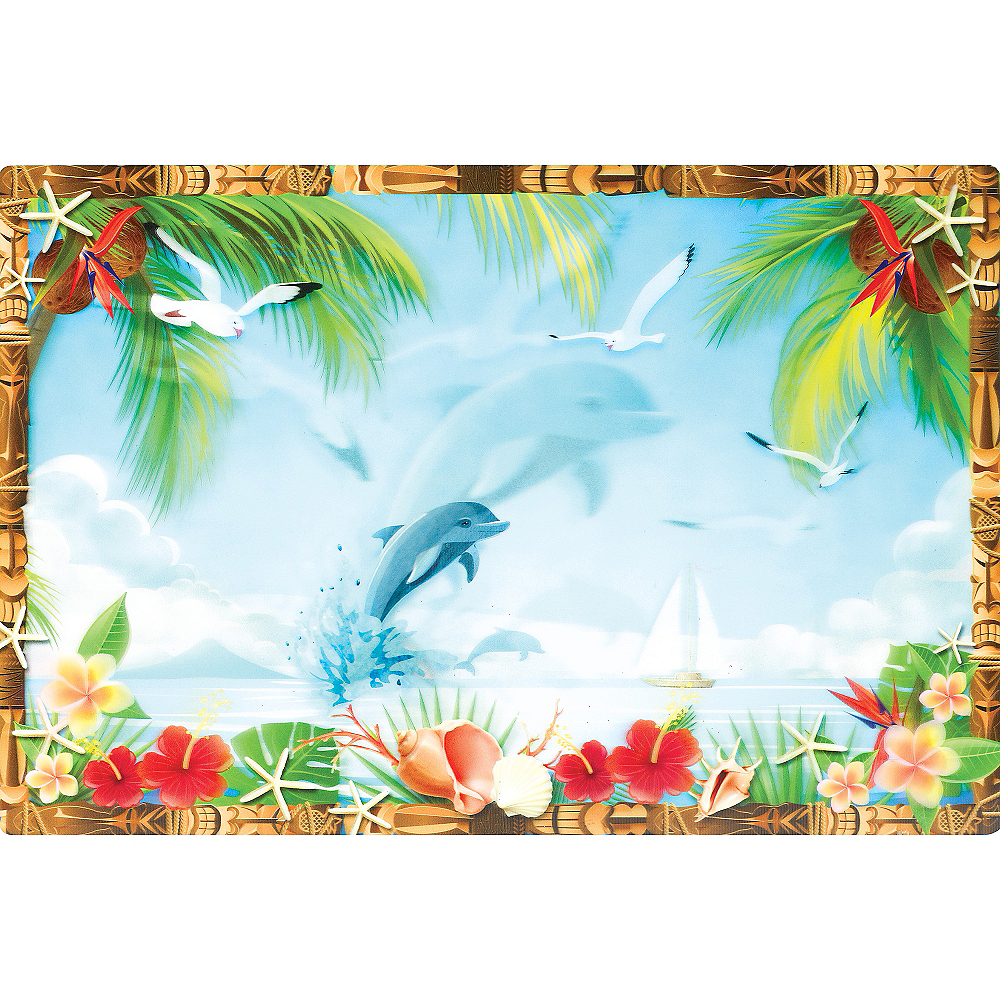 Nav Item for Tropical Scene Lenticular Cutout Image #2