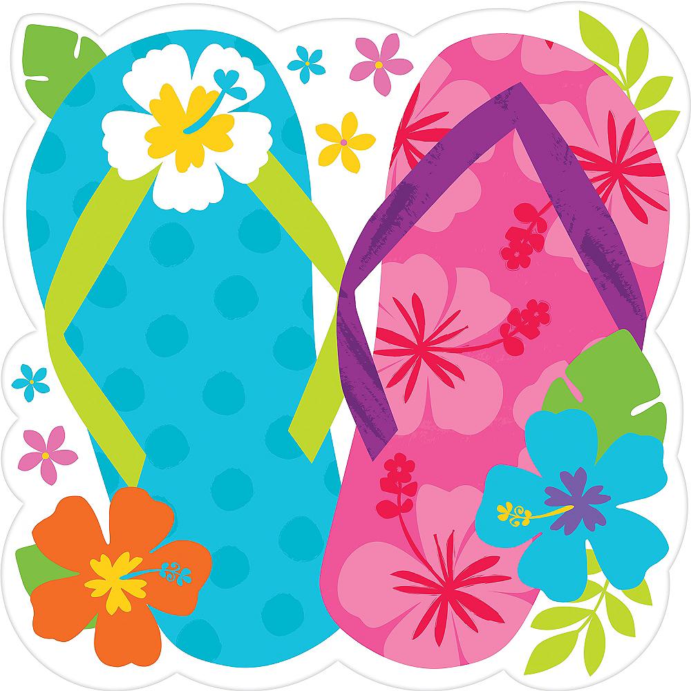 Bright Flip Flop Cutout Image #1