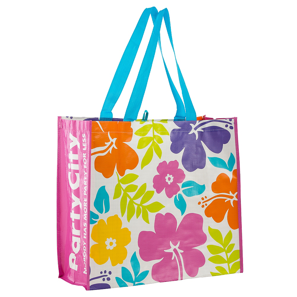 Hibiscus White Tote Bag Image #1