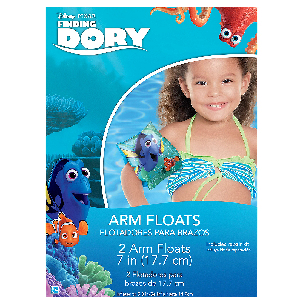 Child Finding Dory Arm Floaties Image #2