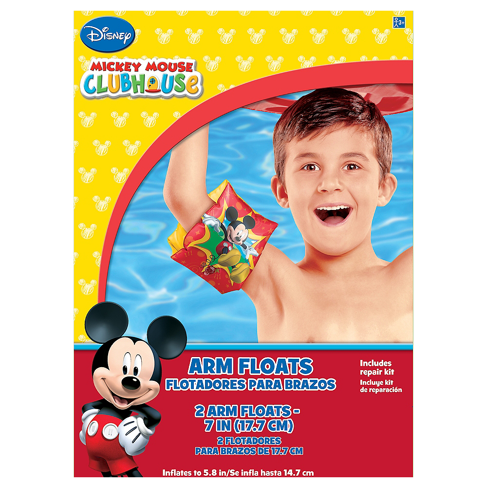 Child Mickey Mouse Arm Floaties Image #2