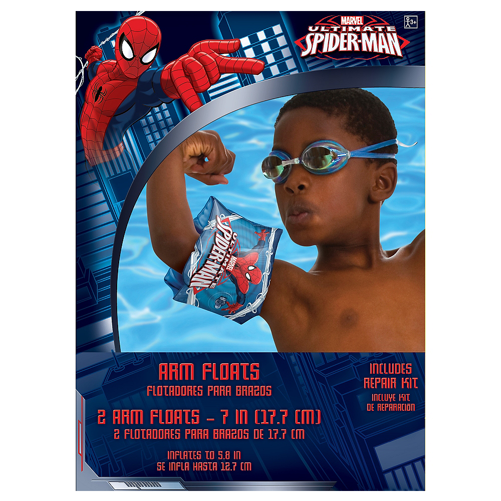 Child Spider-Man Arm Floaties Image #2