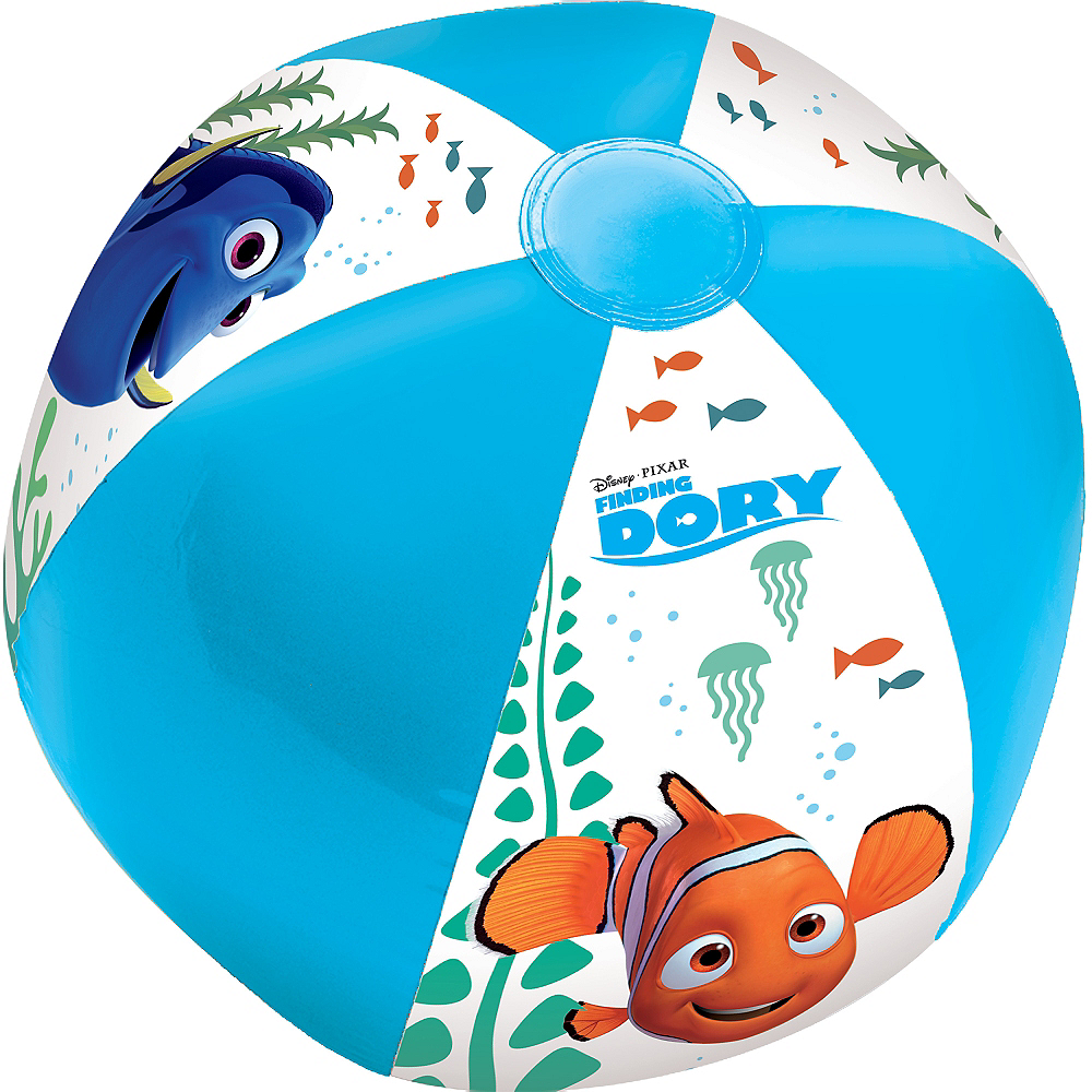 Finding Dory Beach Ball 13 1 2in Party City