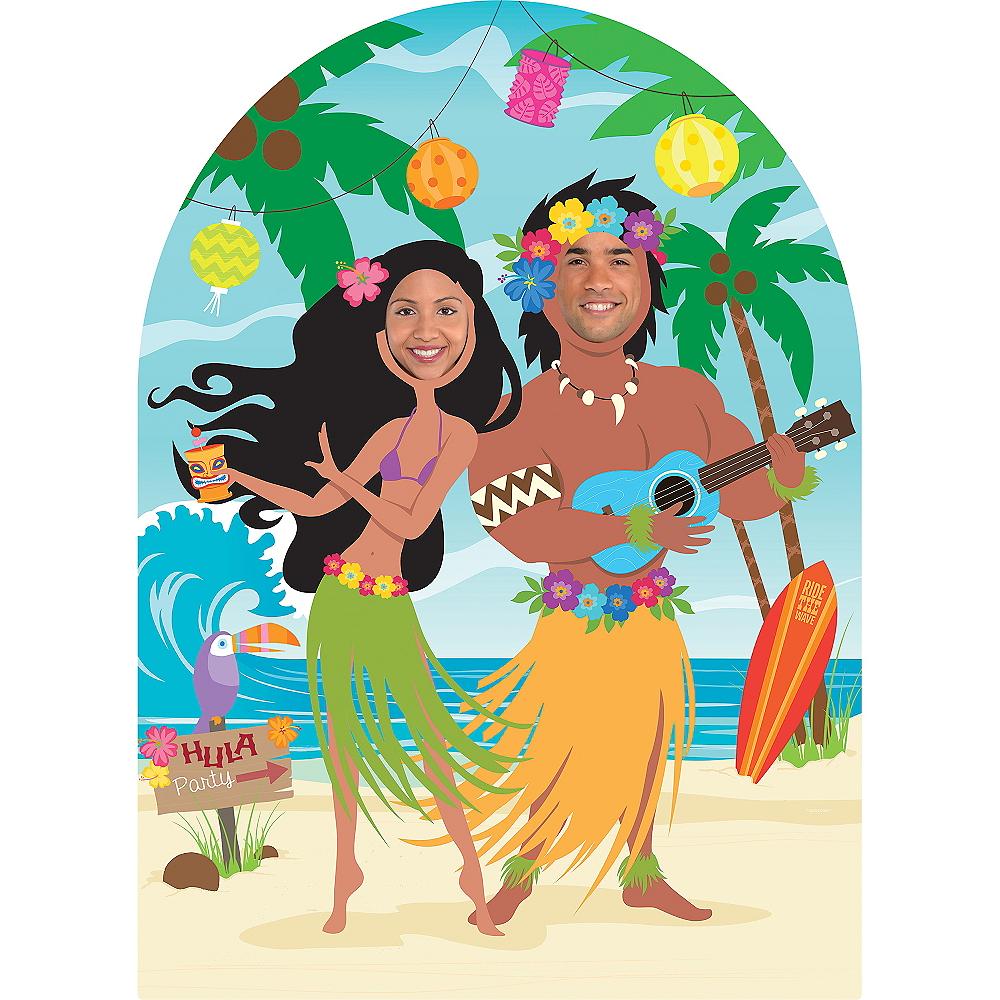 фон для фотосессии гавайской вечеринки всю светаю