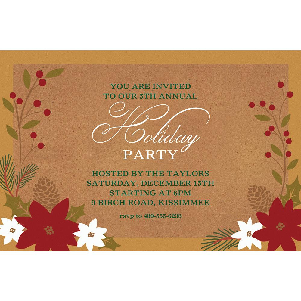 Custom Merry Little Christmas Invitation Image #1