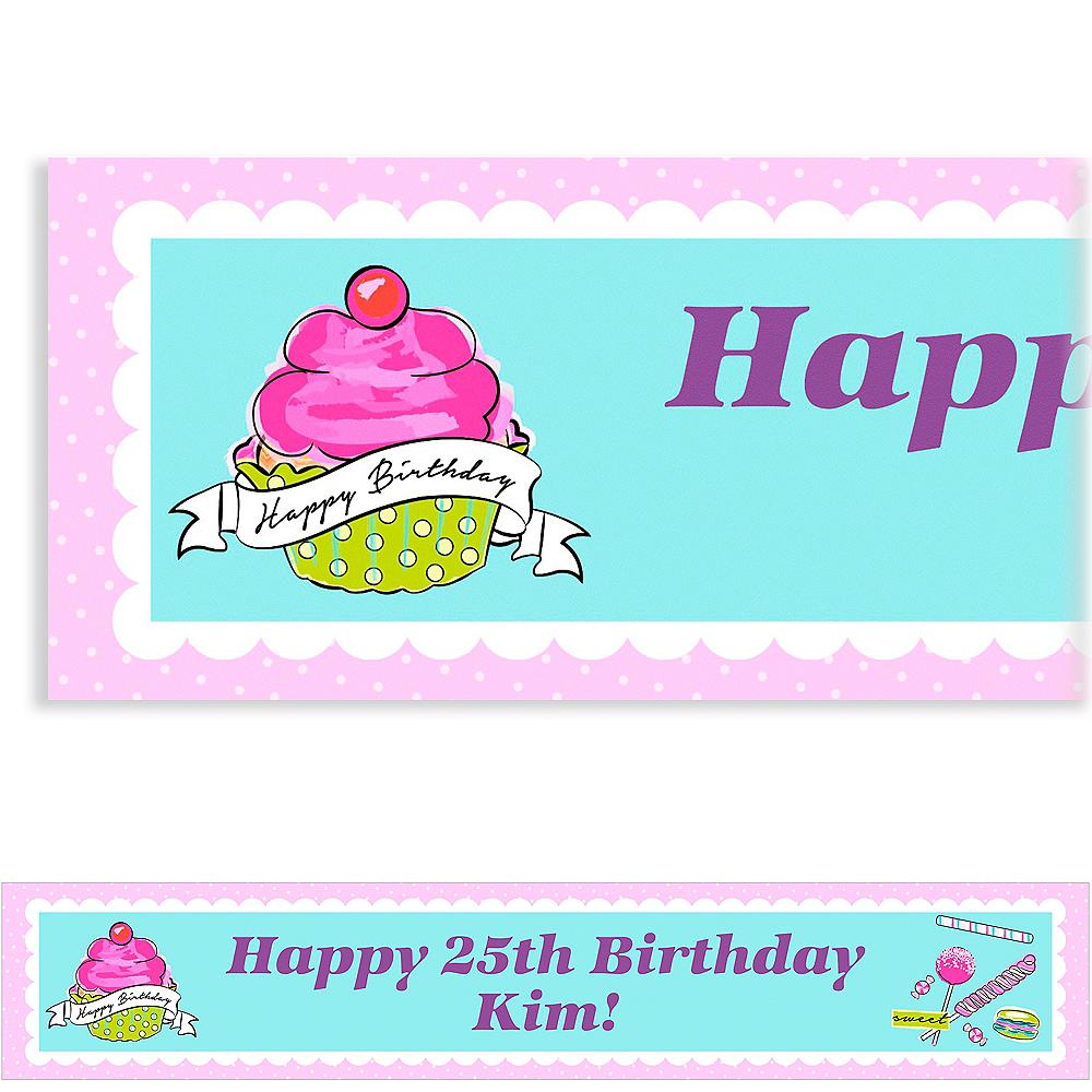 Custom Birthday Sweets Banner Image 1