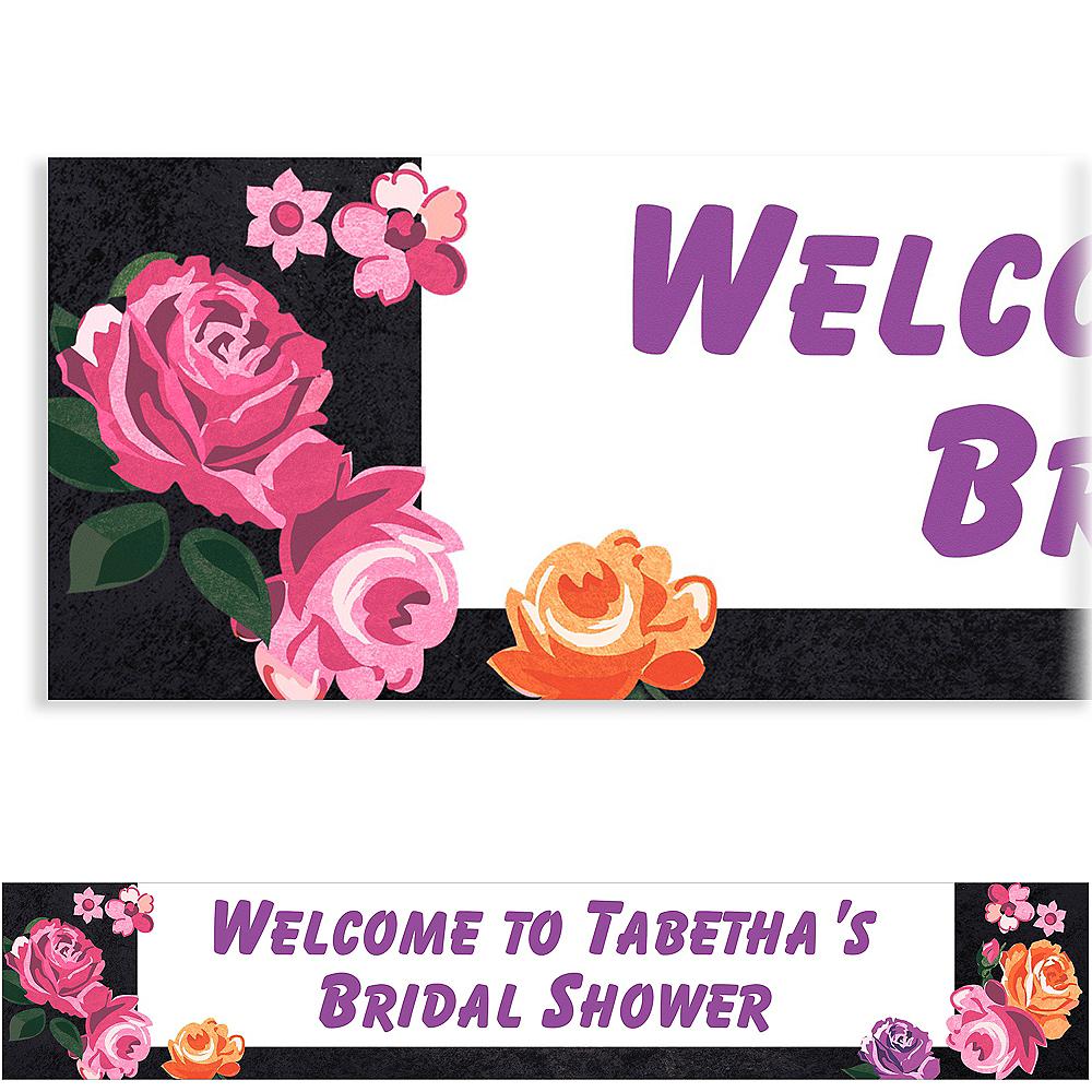 Custom Nouveau Floral Banner Image #1
