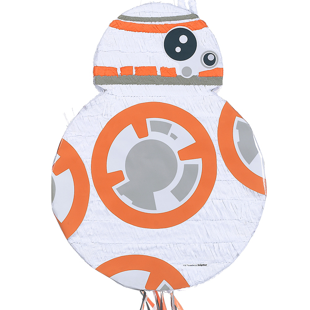 Pull String BB-8 Pinata - Star Wars 7 The Force Awakens Image #1