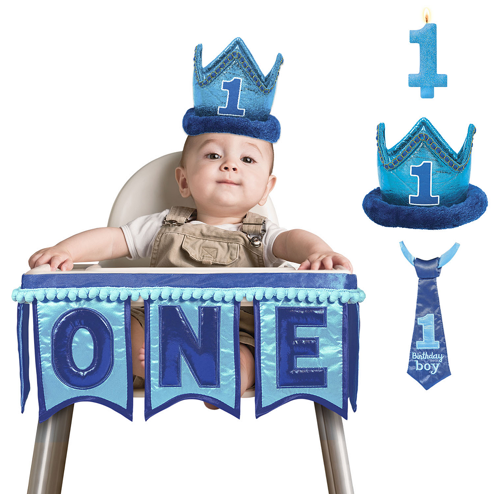 General Boy 1st Birthday Smash Cake Kit Image #1