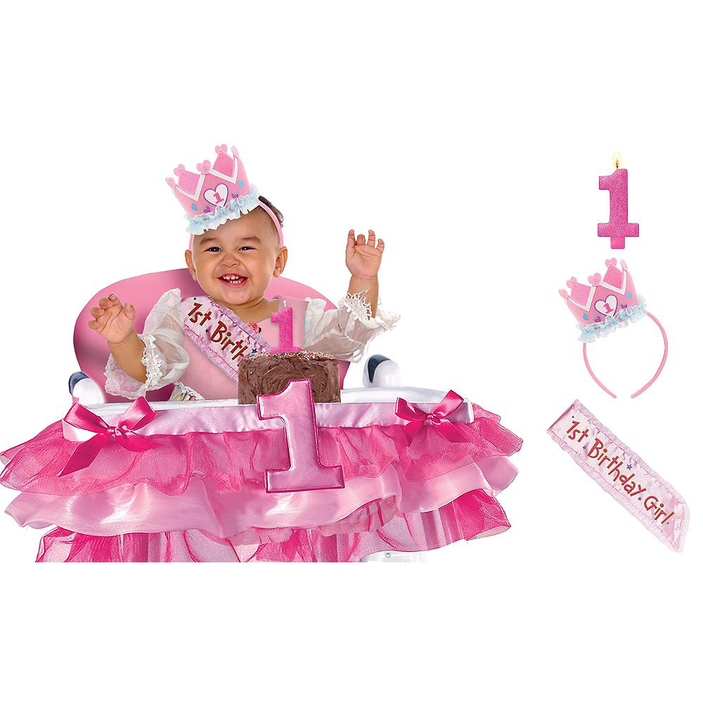 General Girl 1st Birthday Smash Cake Kit Image #1