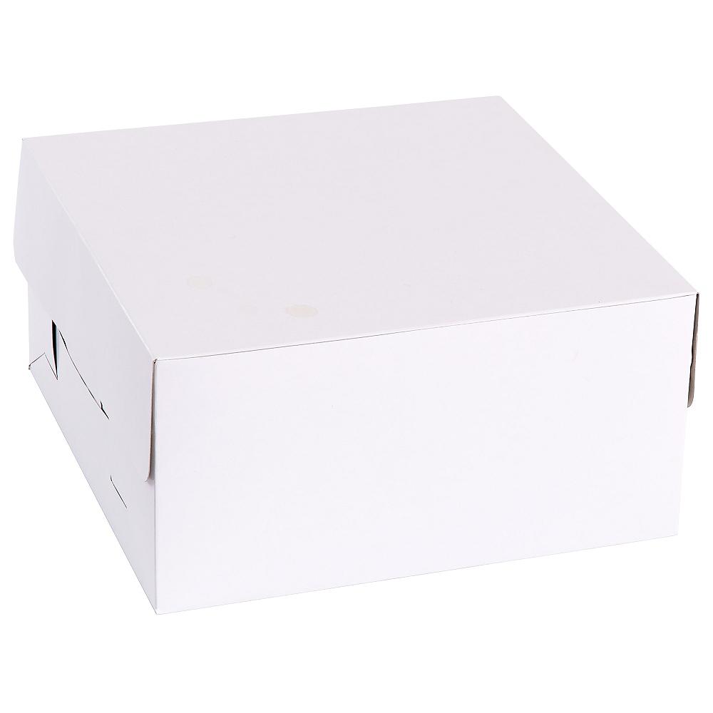 White Window Cake Box Image #2