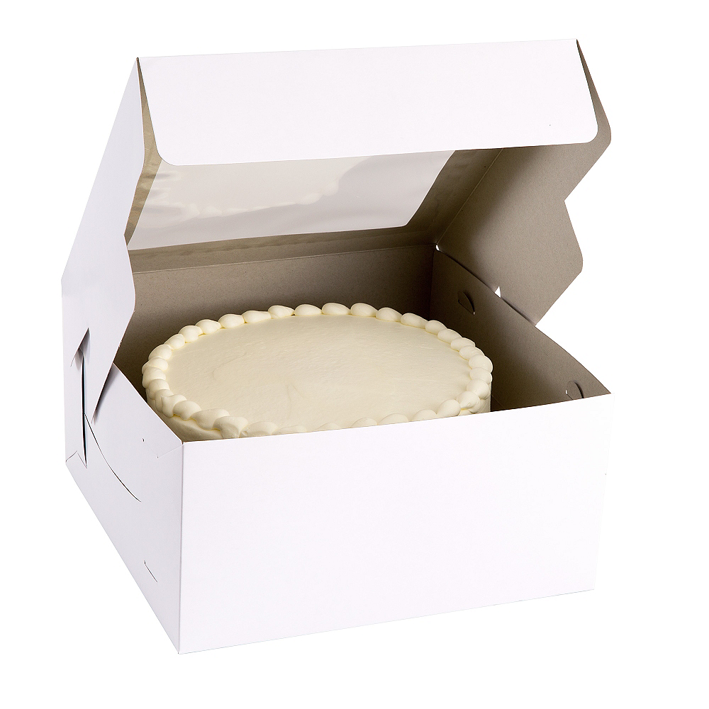 White Window Cake Box Image #1