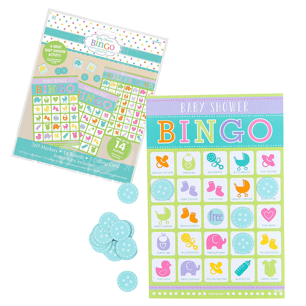 Bingo Baby Shower Game Image #1