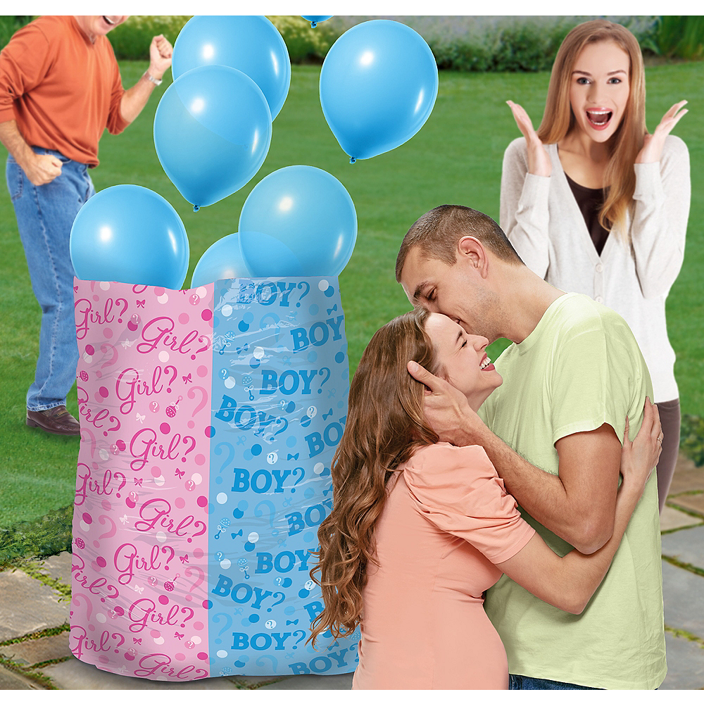 Boy Gender Reveal Balloon Kit Image #1