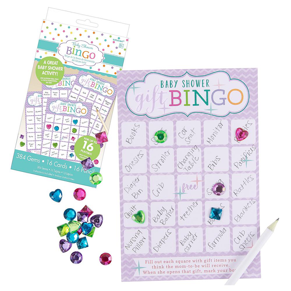 Bingo Baby Shower Game Image #1