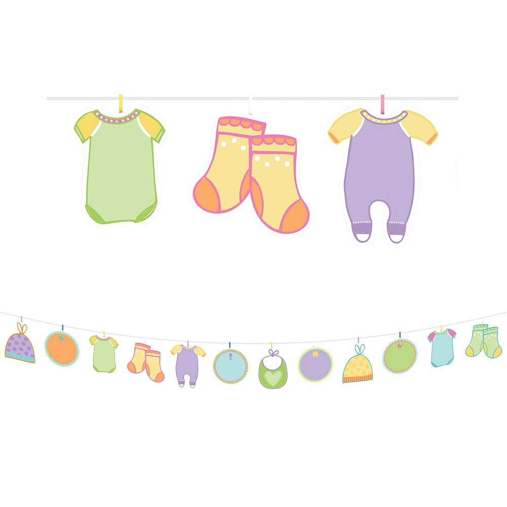 Baby Shower Banner Activity Kit Image #1
