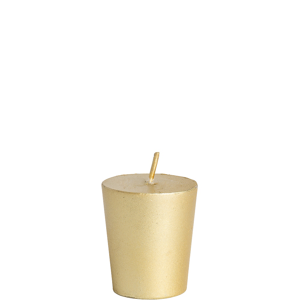 Gold Votive Candle Image #1