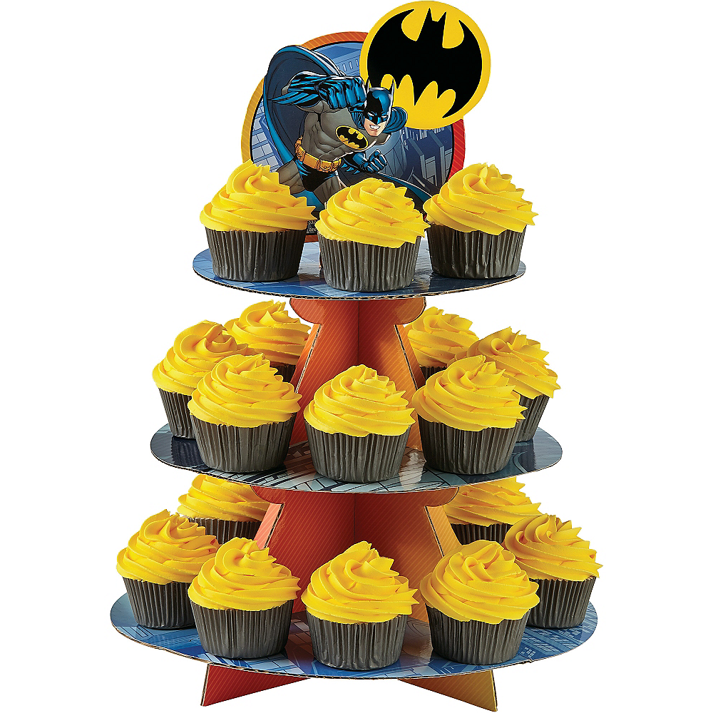 Wilton Batman Cupcake Stand 11 3/4in x 16in | Party City Canada