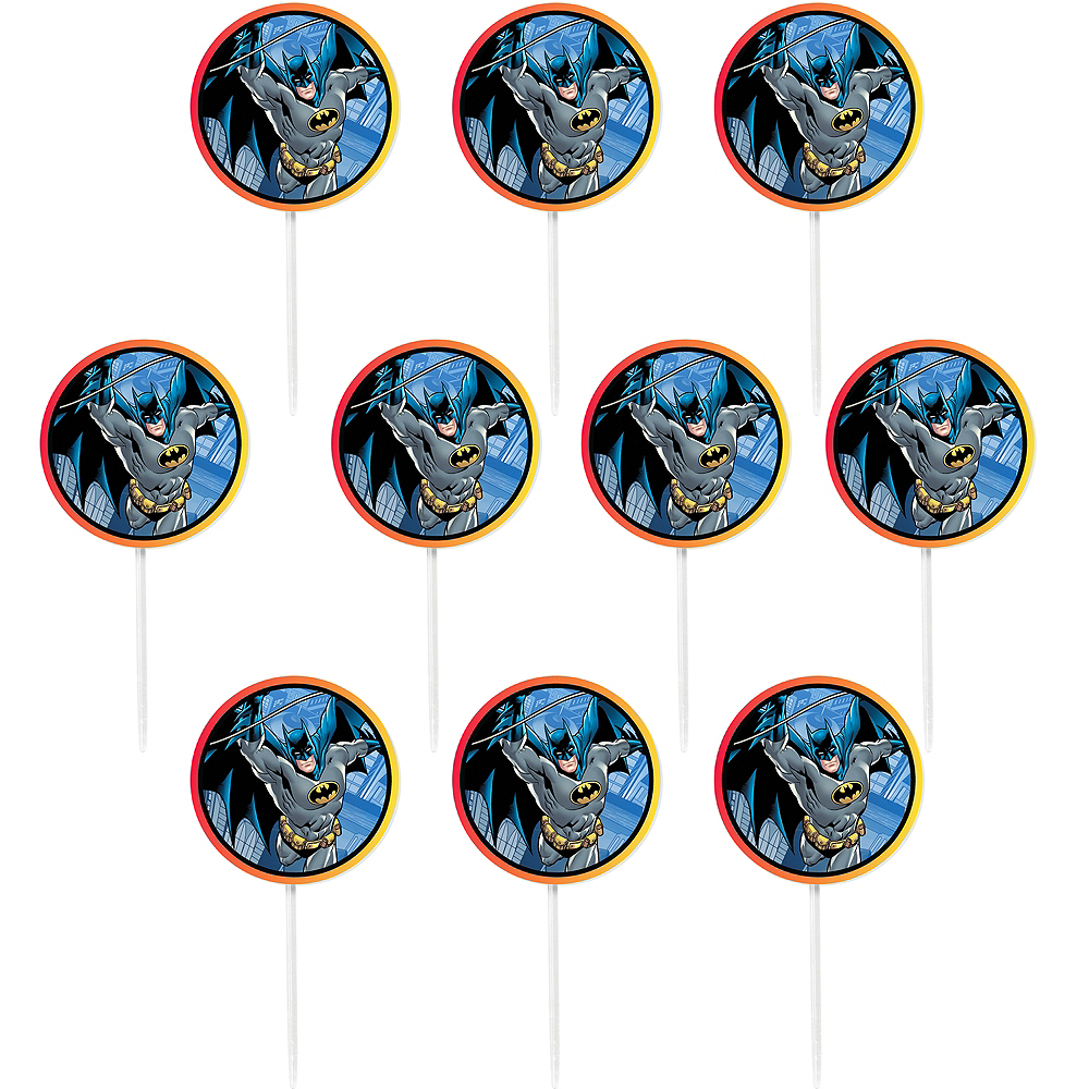 Wilton Batman Cupcake Picks 24ct Image #1