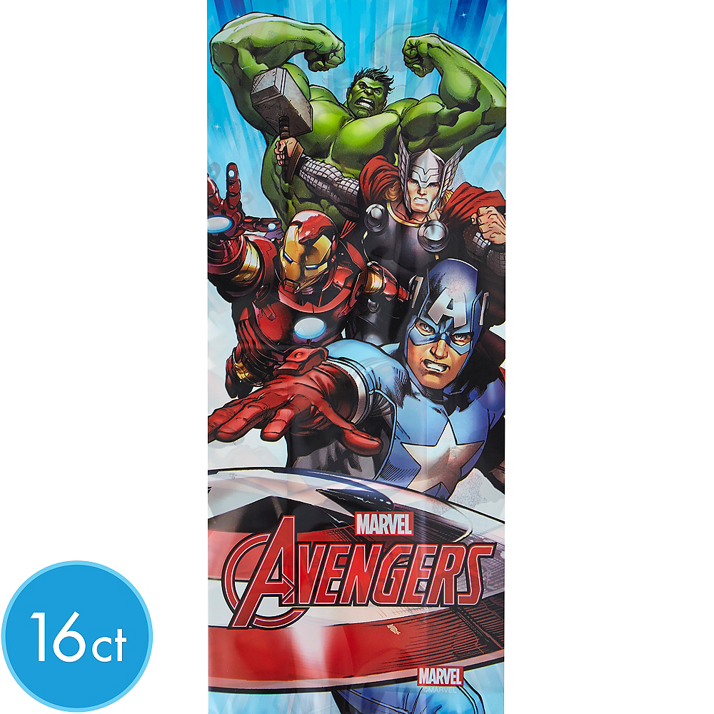Wilton Avengers Treat Bags 16ct Image #1