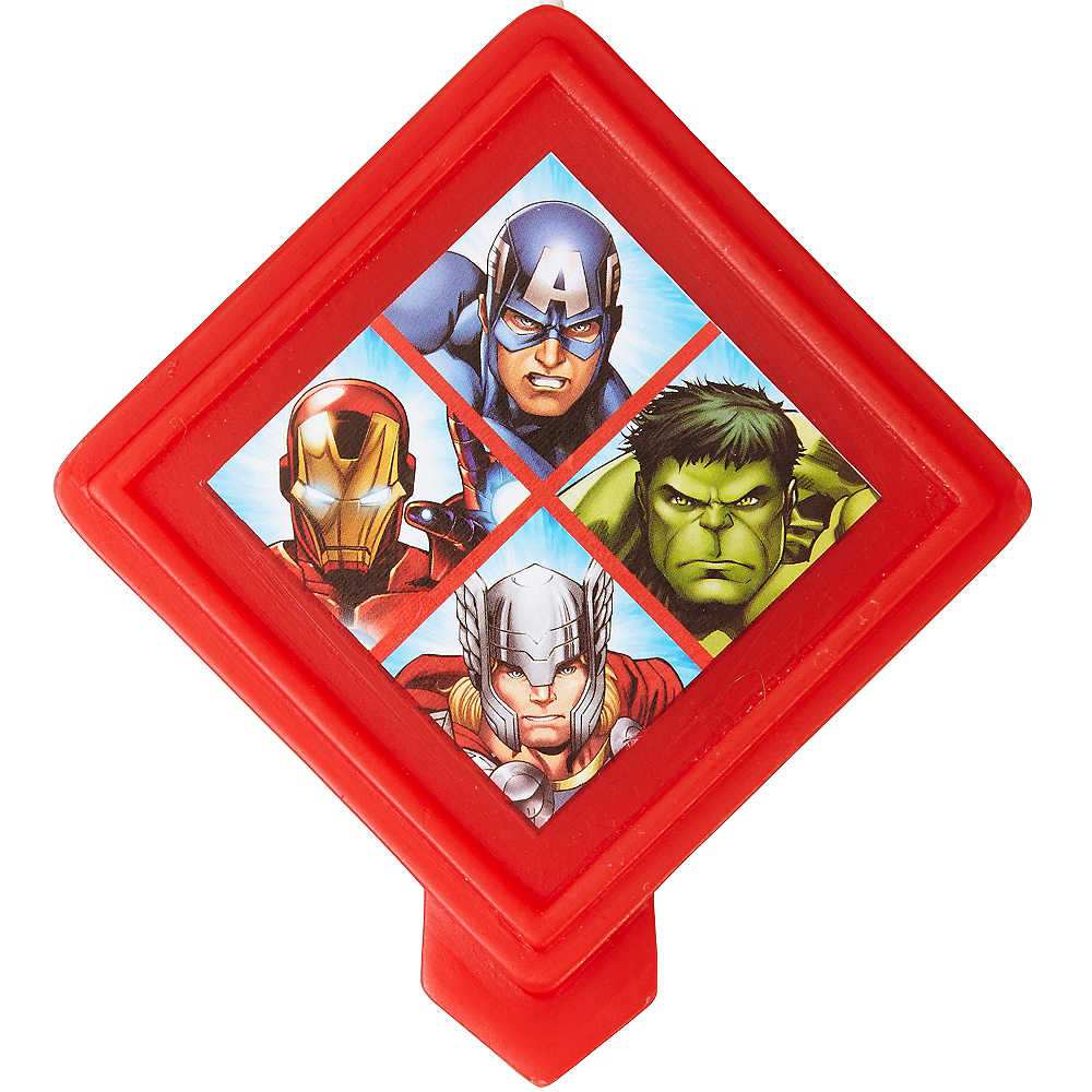 Nav Item for Wilton Avengers Birthday Candle Image #1