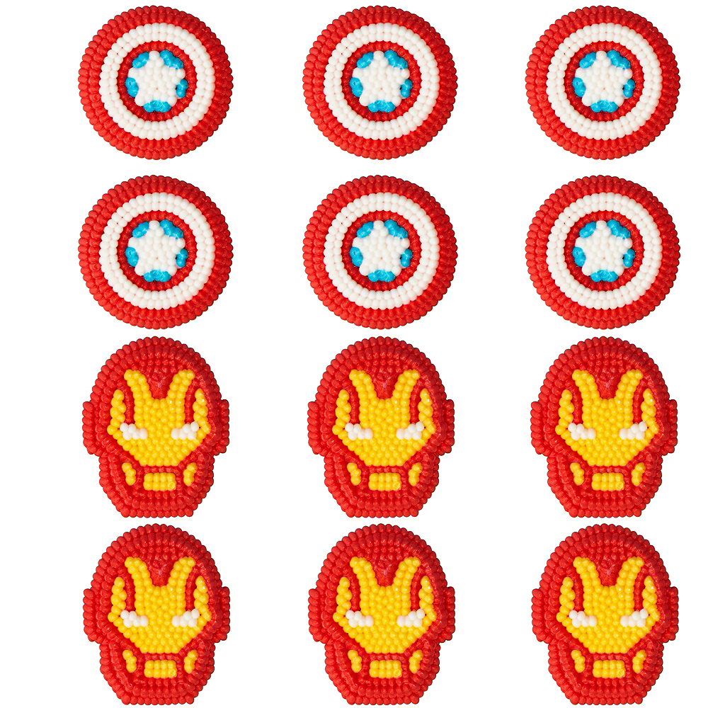 Wilton Avengers Icing Decorations 12ct Image #1