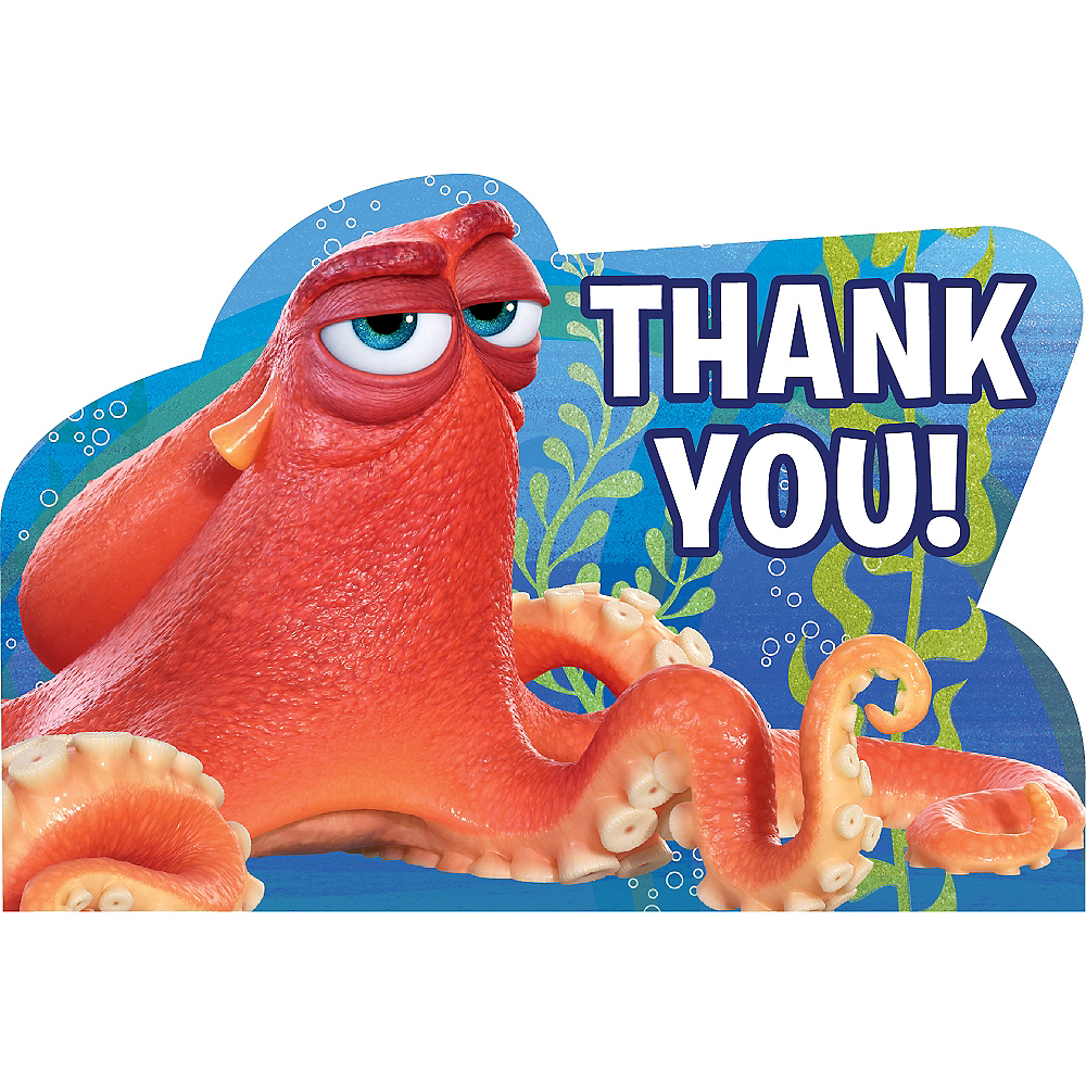 Finding Dory Thank You Notes 8ct Image #1