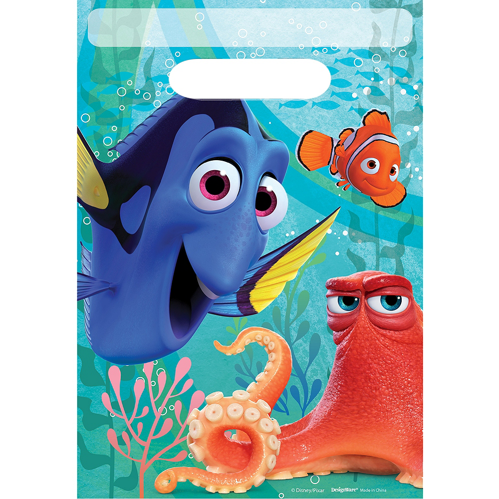 Finding Dory Favor Bags 8ct Image #1