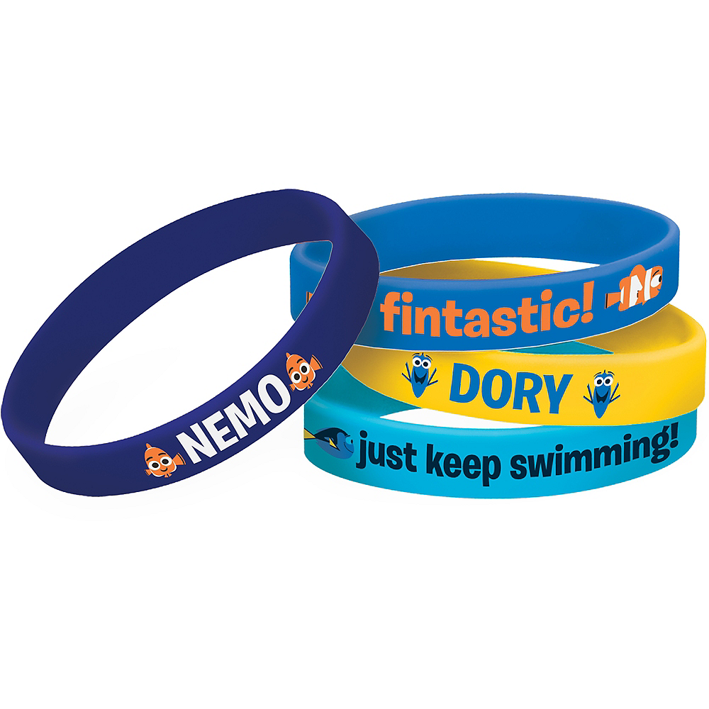 Finding Dory Wristbands 4ct Image #1