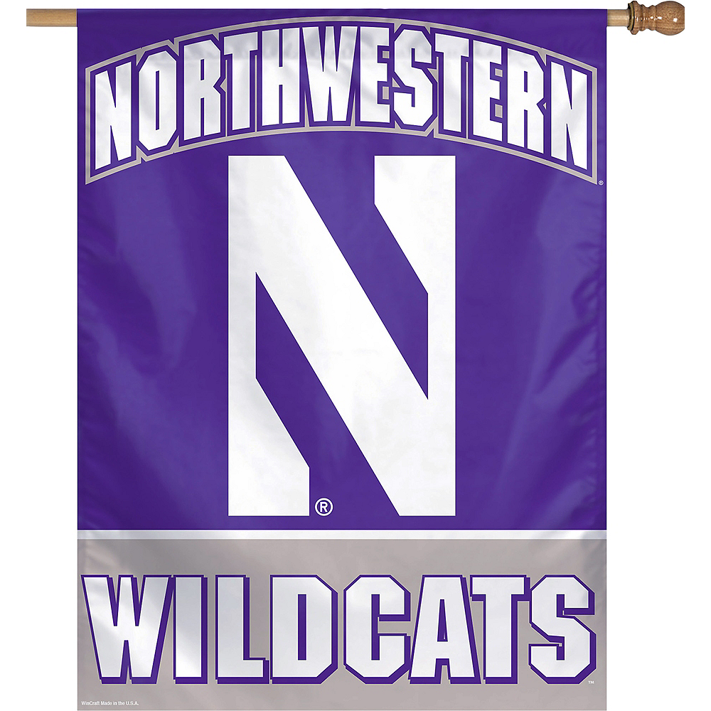 Nav Item for Northwestern Wildcats Banner Flag Image #1