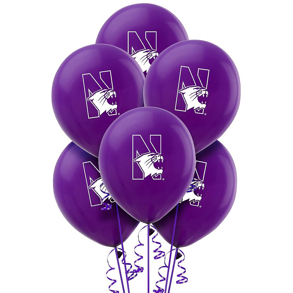 Northwestern Wildcats Balloons 10ct Image #1