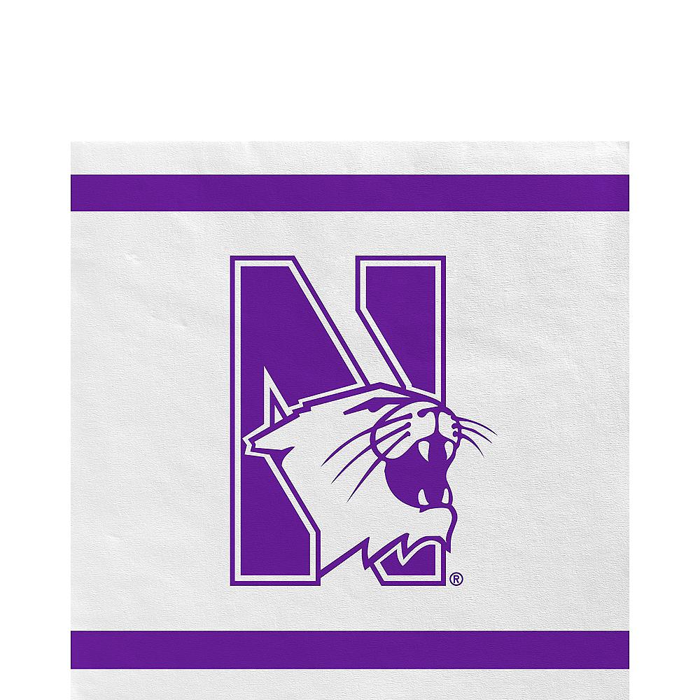 Northwestern Wildcats Lunch Napkins 20ct Image #1