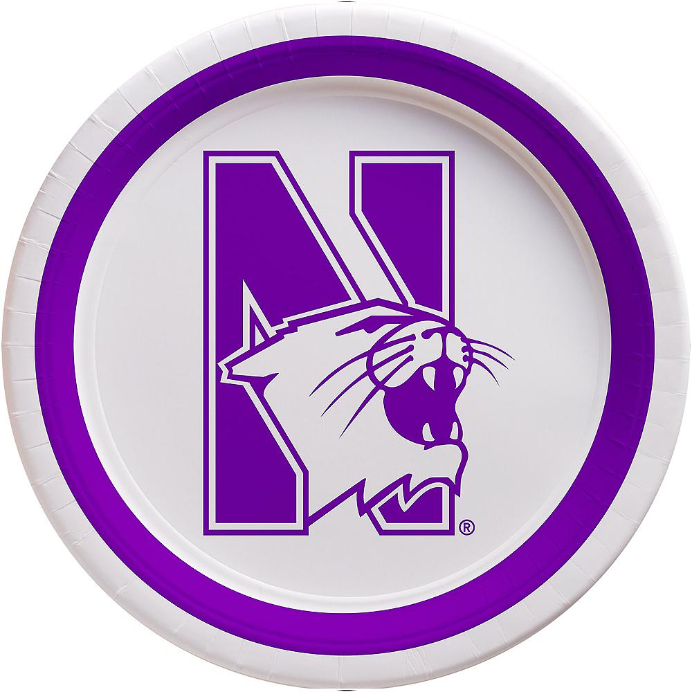 Northwestern Wildcats Lunch Plates 10ct Image #1