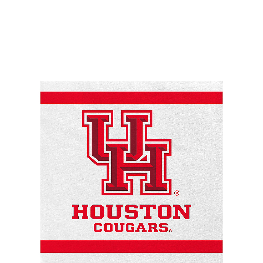 Houston Cougars Beverage Napkins 24ct Image #1