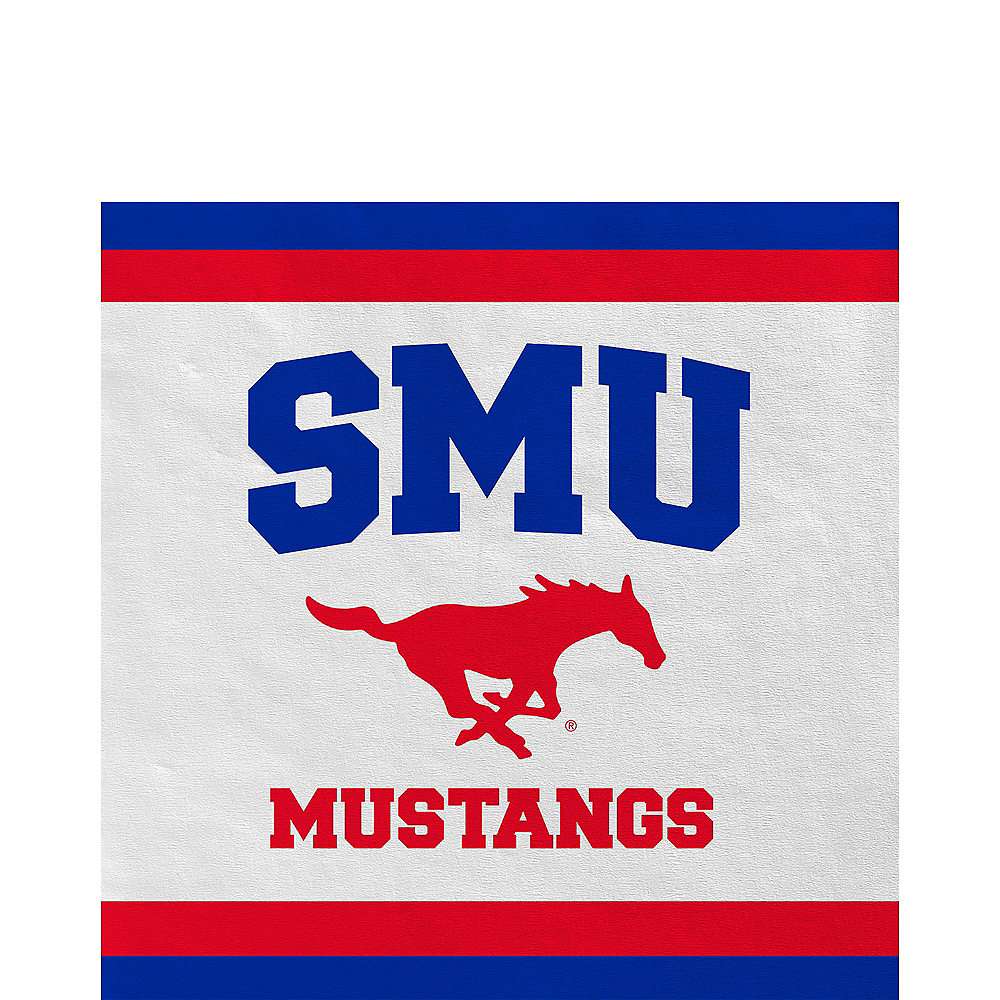 SMU Mustangs Lunch Napkins 20ct Image #1
