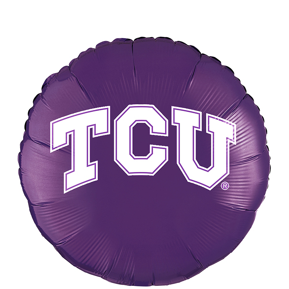 TCU Horned Frogs Balloon Image #1