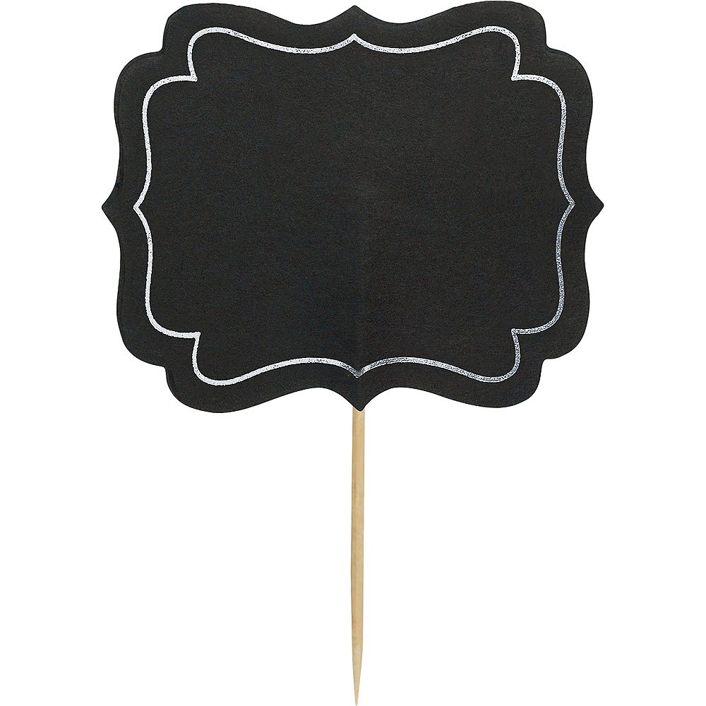 Chalkboard Label Picks 24ct Image #1