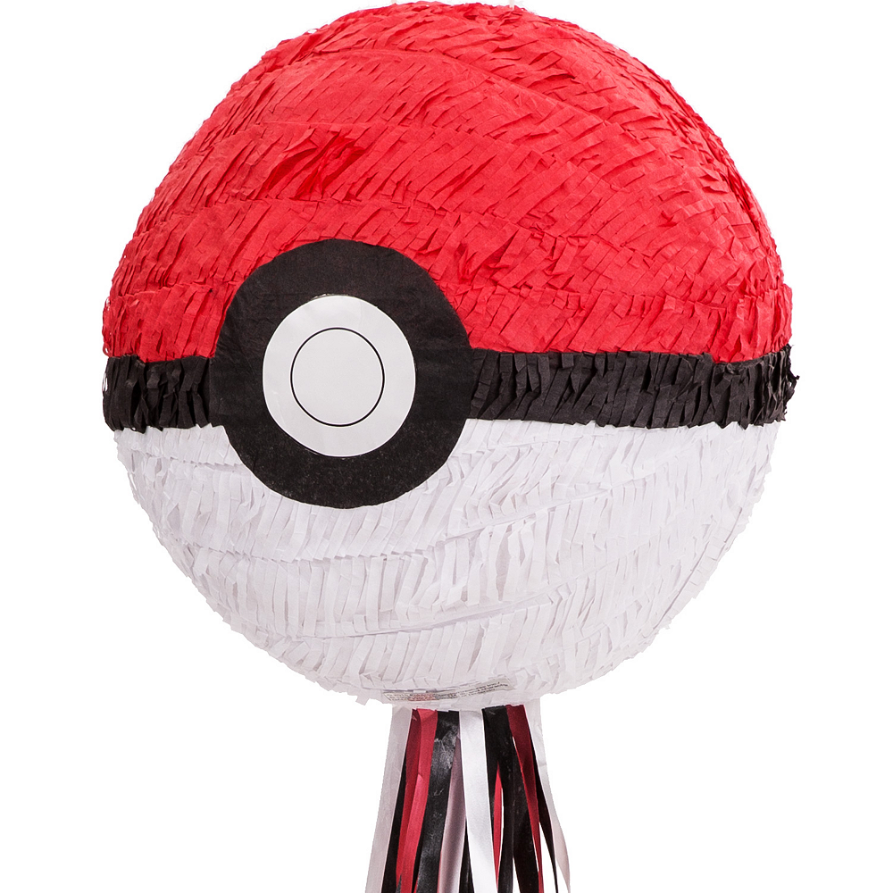 Pull String Pokeball Pinata - Pokemon Image #1