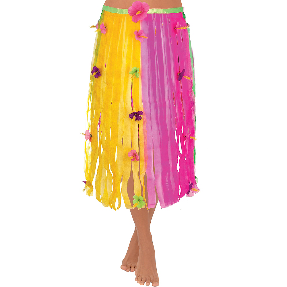Ribbon Hula Skirt Image #1