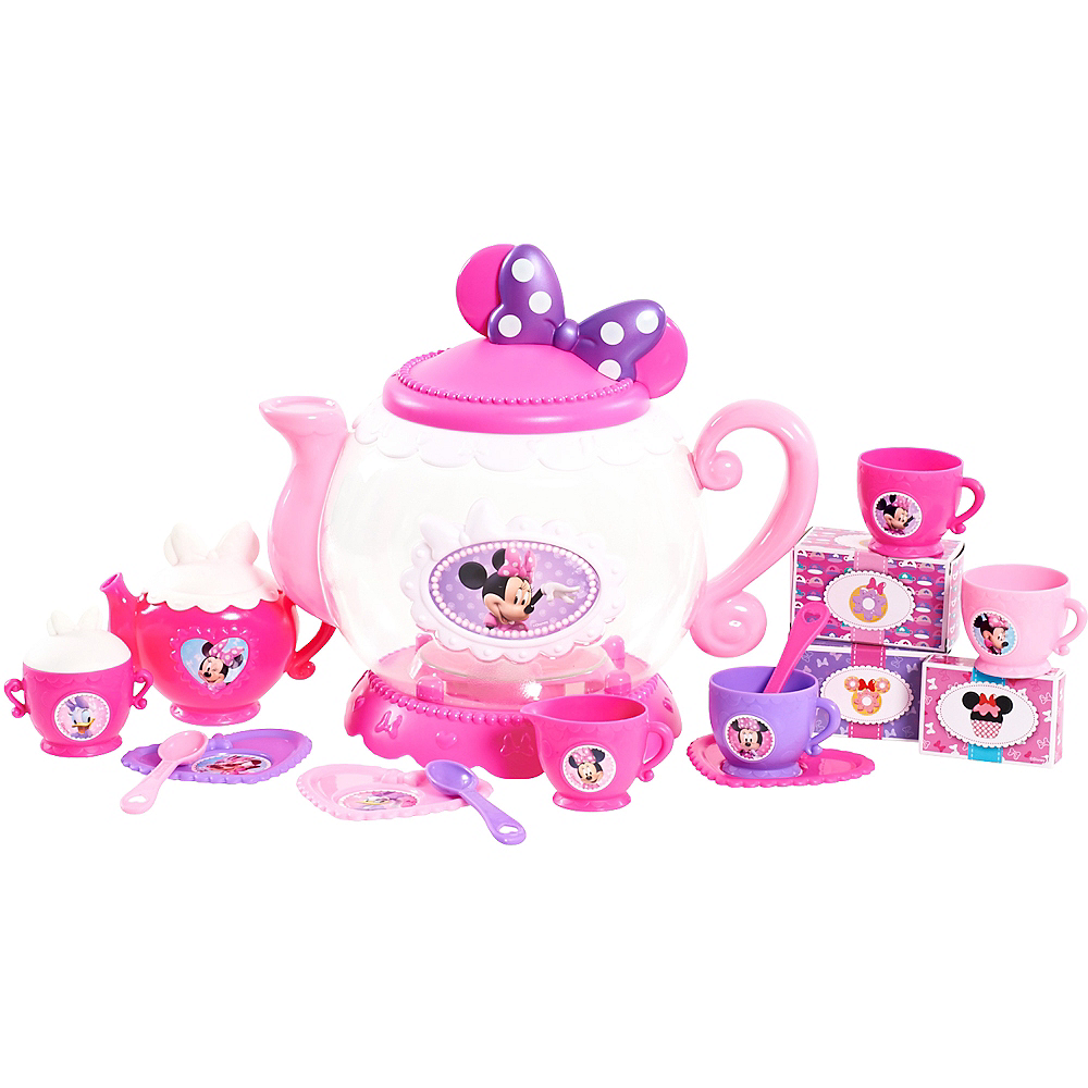 Minnie Mouse Teapot Set 16pc Image #1