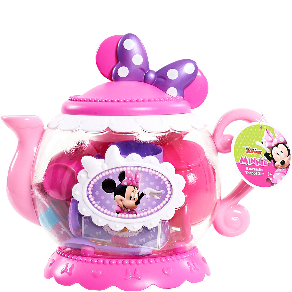 Minnie Mouse Teapot Set 16pc Image #2