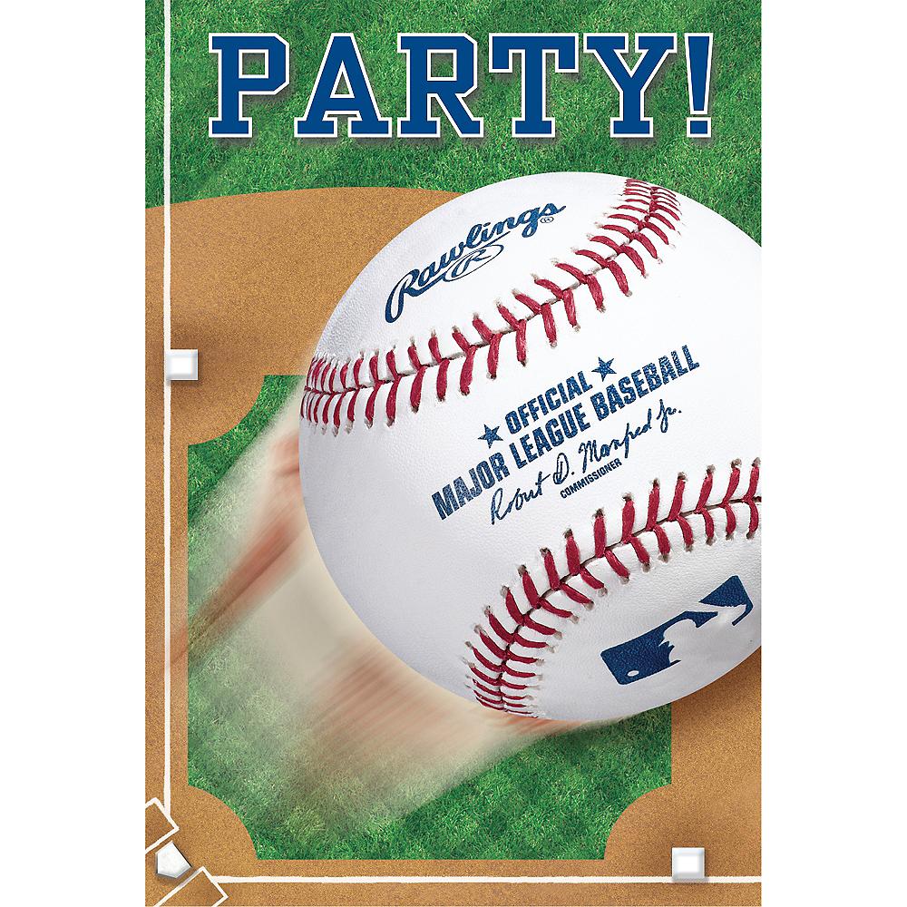 Rawlings Baseball Invitations 8ct Image #1