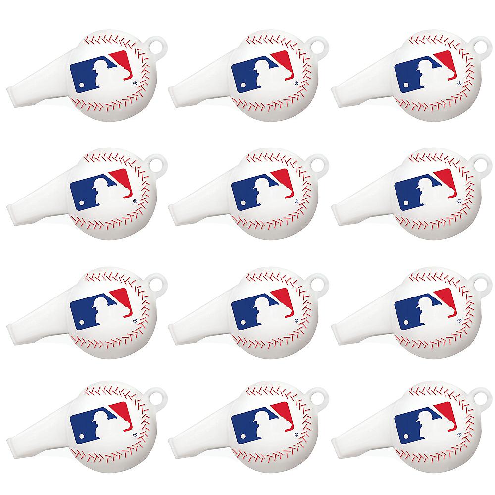 MLB Baseball Whistles 12ct Image #1