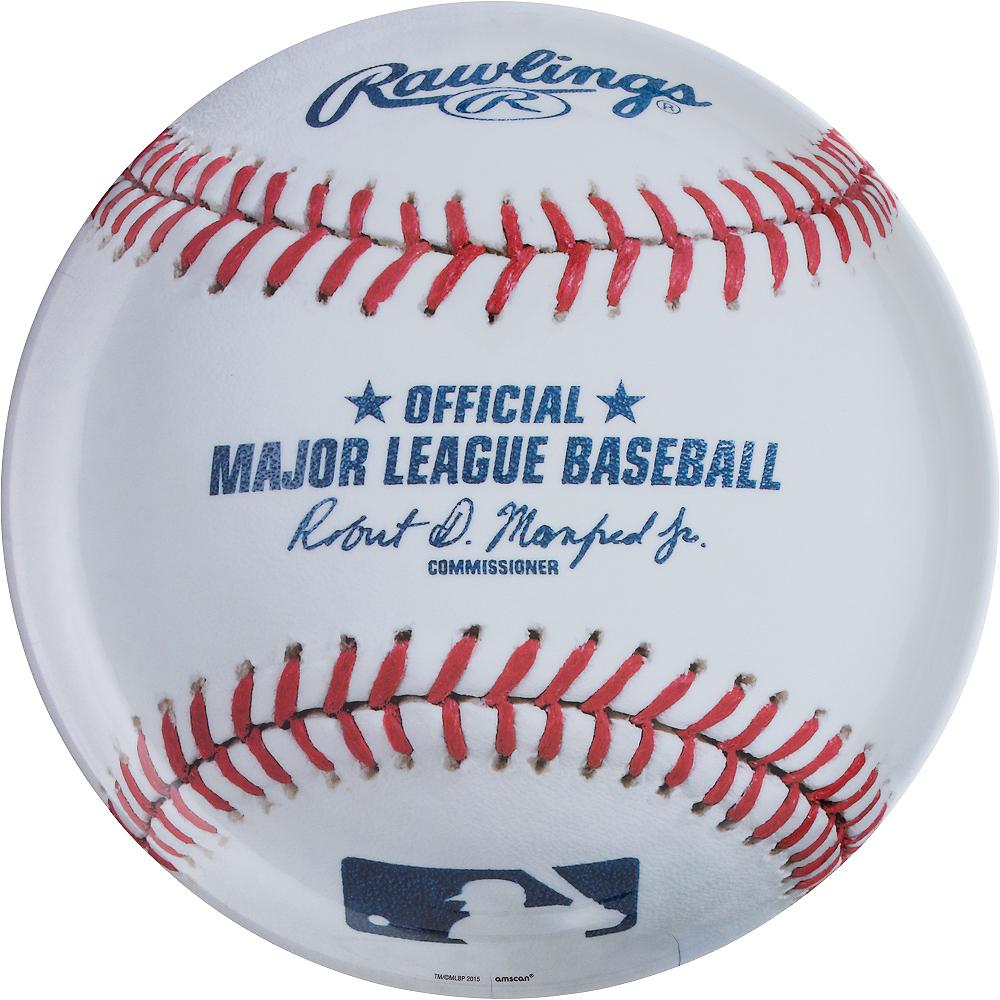 MLB Baseball Platter Image #1